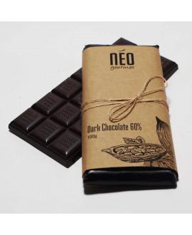 Dark Chocolate Tablette 60%  100g