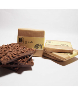 The Square Milk Chocolate with Rice Crispy
