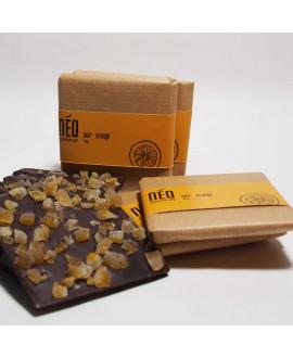 The Square Dark Chocolate with Dried Orange