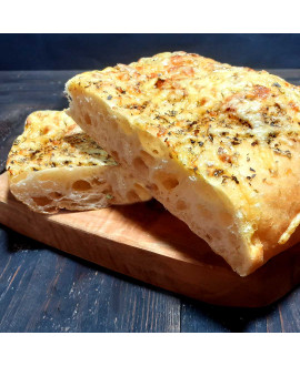 Focaccia Oregano & Cheese