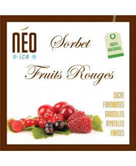 Sorbet Fruits Rouges