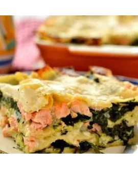 Salmon and Spinach Lasagna Kit